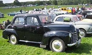 Vauxhall Velox - Image: Vauxhall Velox ca 1949