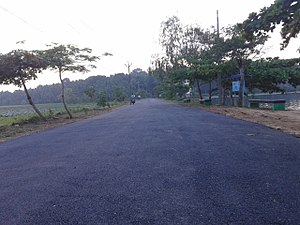 Vellayani Lake - Vavvamoola Lake road