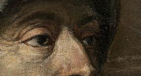 Vecelli, Tiziano - Charles V at Mühlberg - Detail- Eyes