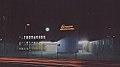 Veduta notturna ingresso via Fucini Lambrate anni 50.jpg