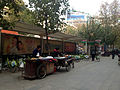 Vendors and public bikes Changde.jpg