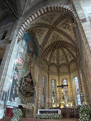Sant'Anastasia, Verona, Veneto, Italy. Main ch...