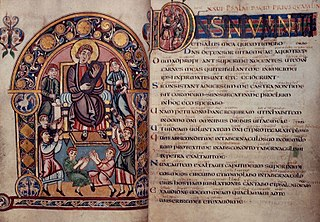 Vespasian Psalter 8th-century illuminated manuscript and psalter