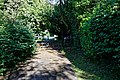 Vicarage Lane churchyard gate at Berden, Essex, England.jpg