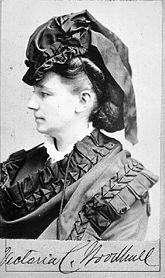 Victoria Claflin Woodhull Martin (1838-1927)