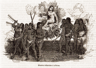 Female cacique from Hispaniola