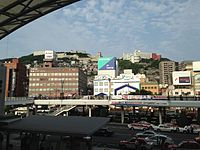 View in front of Nagasaki Station 2.JPG