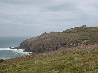 Promontory forts of Cornwall - Kenidjack Castle