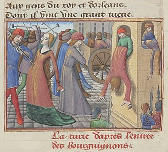Henry of Marle (died 1418) - Massacres of 1418