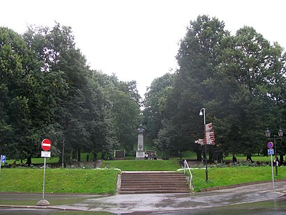 Kuidas ühistranspordiga sihtpunkti Pirogovi park jõuda - kohast