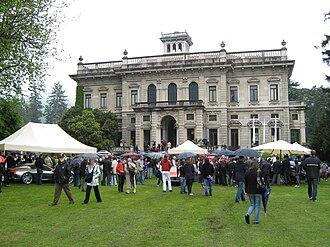Villa Erba - Exterior view of the villa in 2009