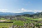 Villach Burgruine Landskron Blick auf Landskron 20042016 1712.jpg