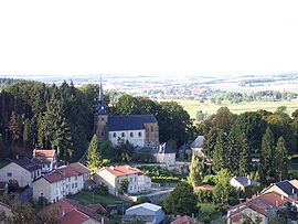 A general view of Cornay