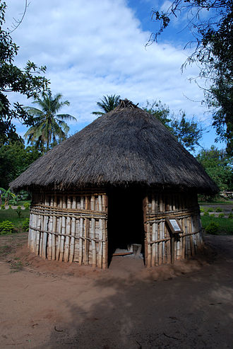 National Museum of Tanzania - A traditional hut in the Village Museum