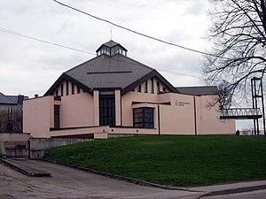 Rasos (district) - Image: Vilnius, kostel u hřbitova Rasos