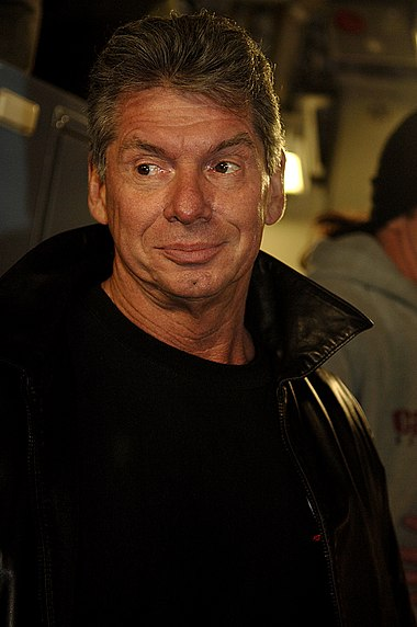 Vince McMahon, owner of WWF