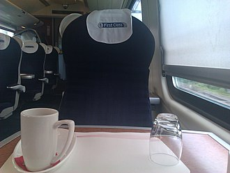 Virgin Trains - First Class aboard a Class 221 Super Voyager