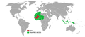 Visa policy of Mali.png