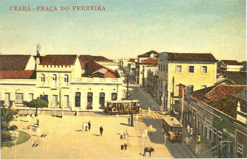 Ficheiro:Vista da Praça do Ferreira 1925.jpg