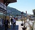 Vista del paso aduanero entre España y Gibraltar desde la avenida del 20 de Abril de la Línea.jpg