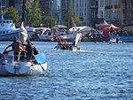 Vom Flensburger Drachenbootrennen, 2013, Bild 07.JPG
