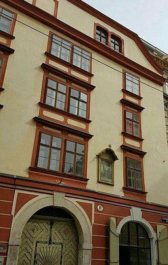Joseph von Semlin - Von Semlin's house in District 2 of Vienna