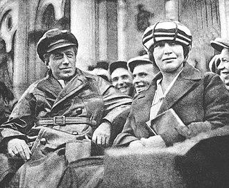 Vsevolod Meyerhold - Vsevolod Meyerhold and Zinaida Meyerhold-Reich Leningrad (St Peterburg) 1925