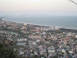 Vũng Tàu view from Small Mount