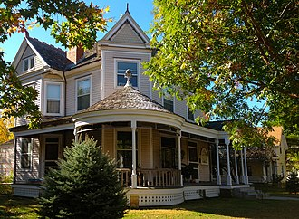 National Register of Historic Places listings in Cowley County, Kansas - Image: W. H. Coffin House, Winfield, Kansas