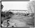 WEST ELEVATION - Moore Road Bridge, Spannning North Fork Creek at Moore Road, Unionville, Bedford County, TN HAER TENN,2-UNI.V,1-5.tif
