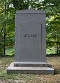 WG Lee grave - Lake View Cemetery - 2015-10-12 (21667557344).jpg