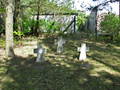 WWI cemetery Merzdorf (rearmost crosses).png