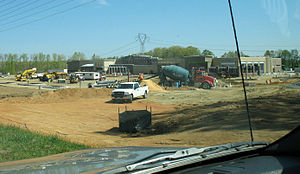 Orange County, Virginia - Locust Grove WalMart Under Construction