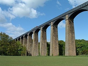 Pontcysyllte Aqueduct; picture taken by Akke M...