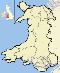 Esgairgeiliog is located in Wales2