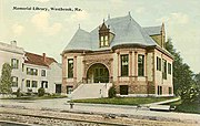 Walker Memorial Library, Westbrook, ME