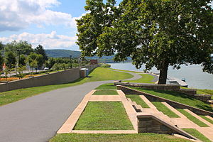 Sunbury, Pennsylvania - Walking path in Sunbury