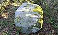 Wallace's Stone, Blairstone Mains, Minishant, South Ayrshire. Carved cross.jpg