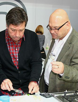 MasterChef (UK TV series) - Judges John Torode and Gregg Wallace at MasterChef Live, London, 2009