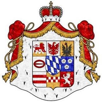 Löwenstein-Wertheim - Arms of Löwenstein-Wertheim-Rosenberg