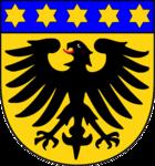 Das Wappen von Markgröningen