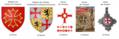 Wappen des Grafen von Toulouse und den Templern mit einer 12-er Symbolik.png