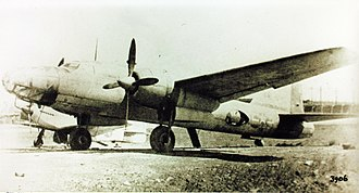 Mitsubishi Ki-67 - A captured Ki-67