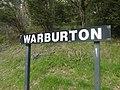 Warburton railway station Victoria station sign.jpg