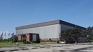 Warren J. Harang Jr. Municipal Auditorium - Image: Warren J. Harang Jr. Municipal Auditorium (Thibodaux, Louisiana)