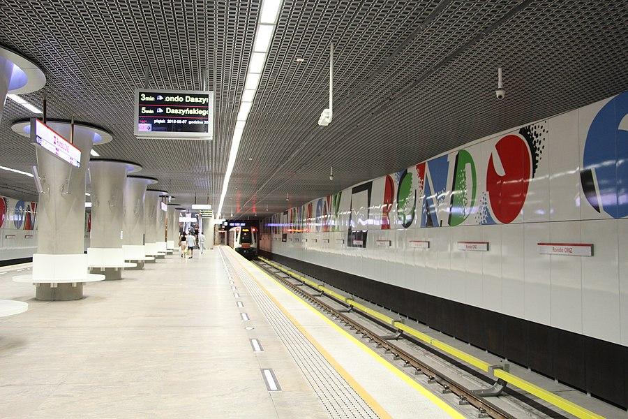 Rondo ONZ metro station