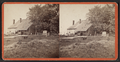 Washington Headquarters at Newburgh (Rear view with cannon.), from Robert N. Dennis collection of stereoscopic views.png