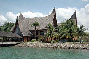 Riau Islands - Waterfront City Ferry Terminal, Batam.