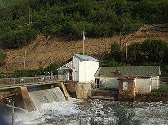 National Register of Historic Places listings in Morgan County, Utah - Image: Weber Dam Utah
