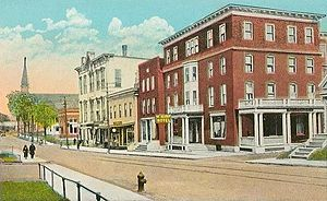 Laconia, New Hampshire - Webster Square, c. 1915